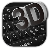 3D Simple Business Black Keyboard Theme file APK Free for PC, smart TV Download