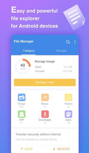 File Manager 1.0.11 screenshots 1