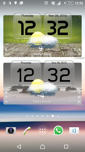 玩免費天氣APP|下載FineWeather Widget and Clocks app不用錢|硬是要APP