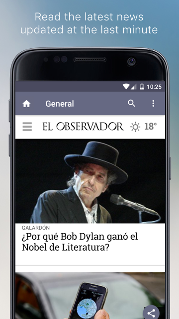 Uruguayan Newspapers- screenshot