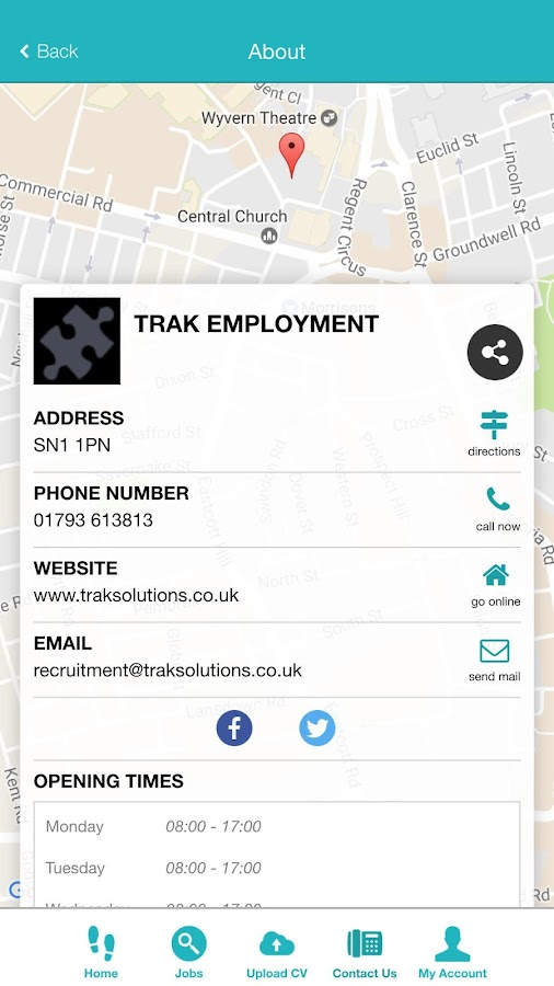 Trak Employment- screenshot
