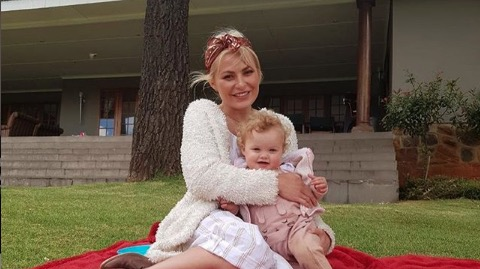 Karlien van Jaarsveld is grateful for fans' support.