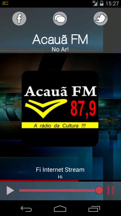 Acauã FM- screenshot