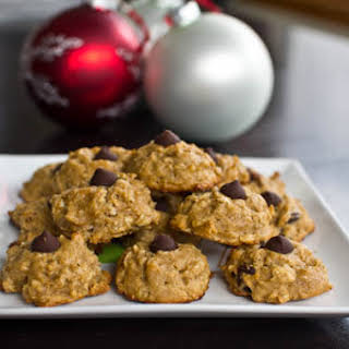 Peanut Butter Oatmeal Chocolate Chunk Cookies.
