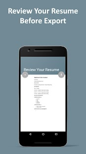 auto resume cv android apps on google play