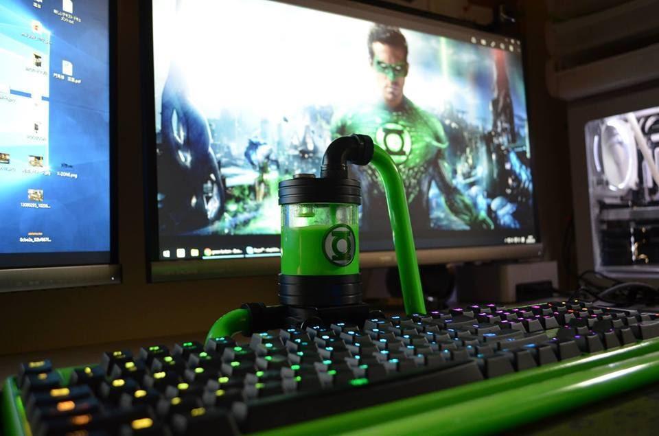 bàn phím cơ Green Lantern