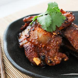 Korean Style Pan-fried Pork Belly