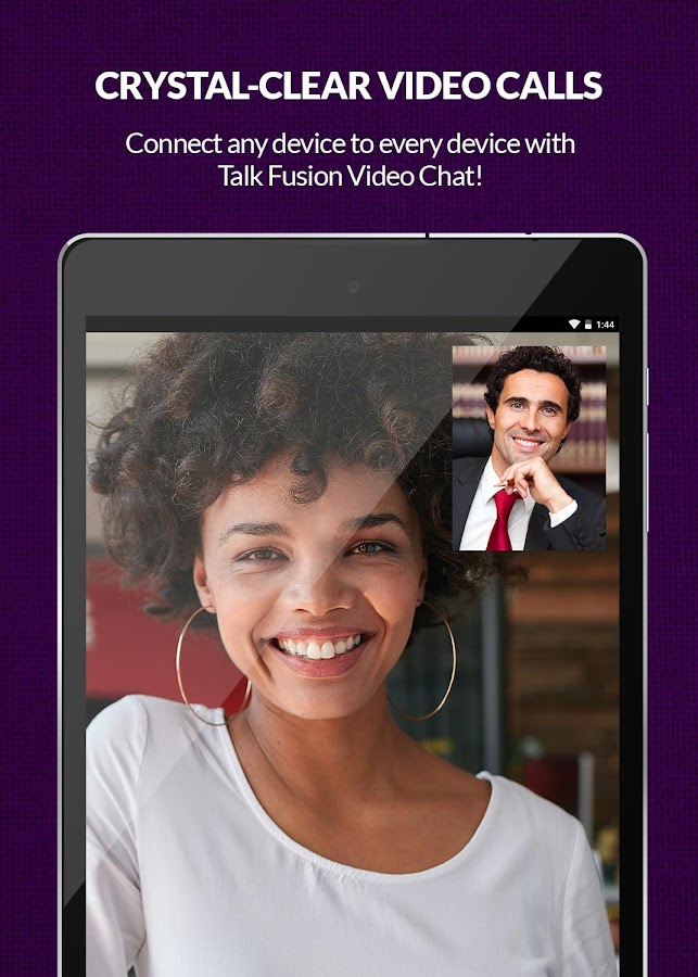 Talk Fusion Video Chat: captura de pantalla