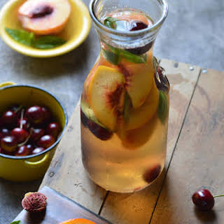 Peach Cherry Sangria.
