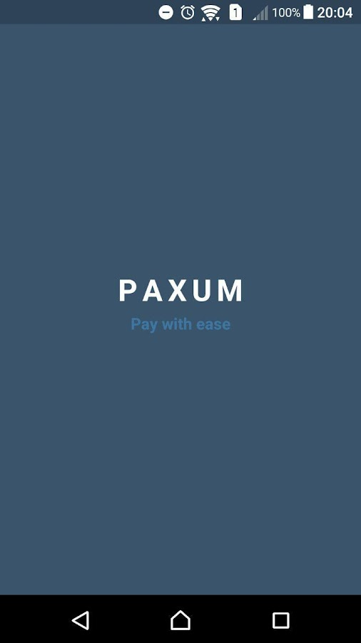 Paxum- screenshot