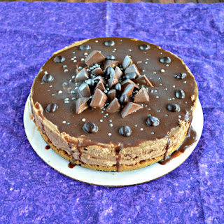 No Bake Mocha Cheesecake #SundaySupper