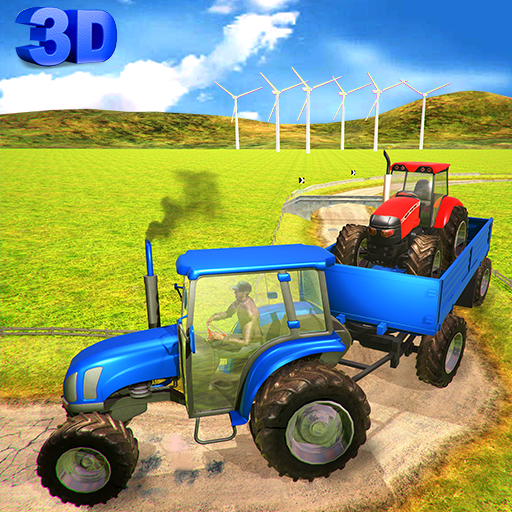 Tow Tractor Driving Simulator: Chained Pull Driver Android APK Download Free By Collider Game Studio