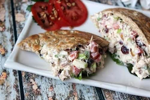 "Click Here for Recipe: Flavorfully Fantastic Chicken Salad Sandwich ""This is an..."