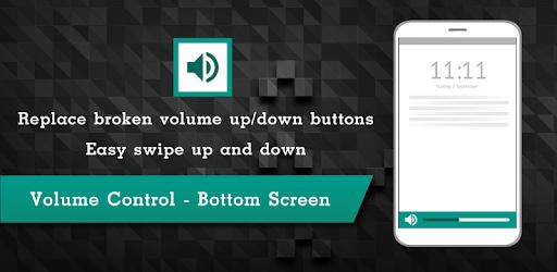Volume Control - Bottom Screen - Apps on Google Play