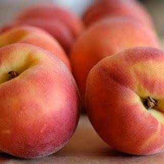 Summertime Gingery Peach Float & Frozen Yogurt