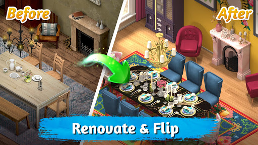 Room Flip : Design 🏠 Dress Up 👗 Decorate 🎀 1.2.5 screenshots 1