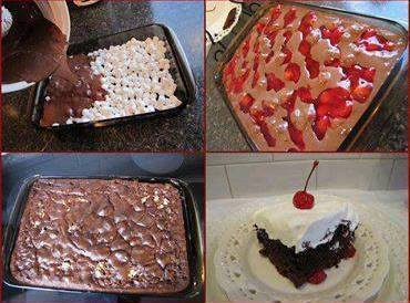 Easy As Pie Filling Cake From Terry Wheat Recipe