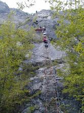 Photo: via ferrata centenario S.A.T. via dell` Amicizia Gardasee; 2004