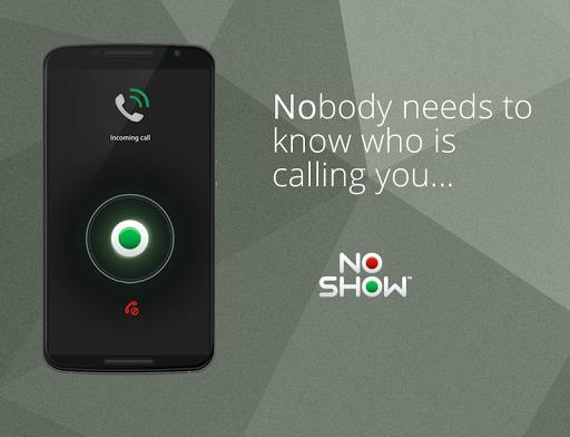 発信者番号を非表示 - No Show