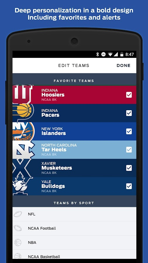 FOX Sports Mobile- screenshot