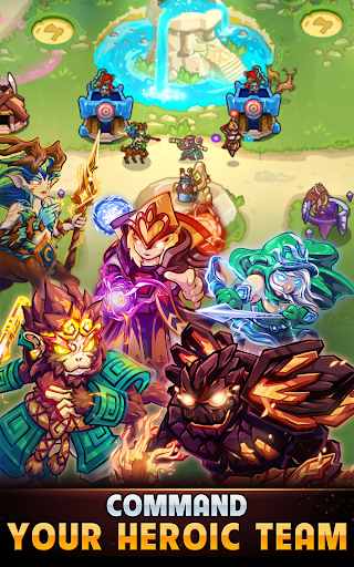 Kingdom Defense: Hero Legend TD (Tower Defense) 1.1.0 screenshots 18