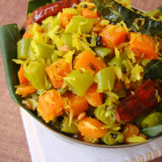 Carrot Beans Vepudu (Stir Fry) Recipe