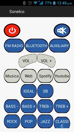 Demo Control de Sonido Sonelco