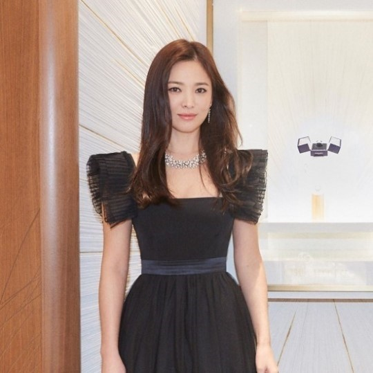 song hye kyo chaumet interview