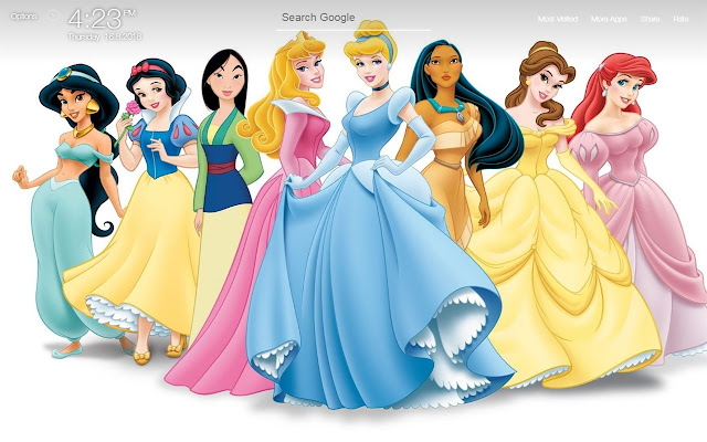 Disney Wallpapers FullHD New Tab