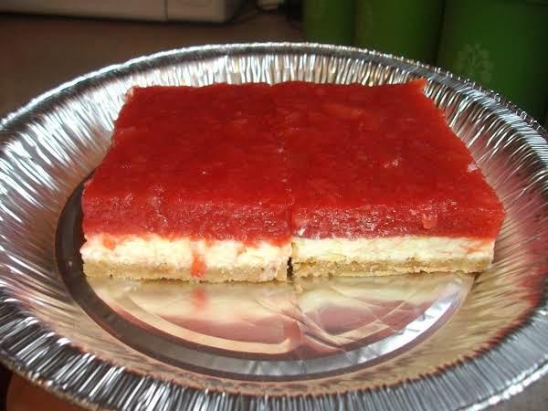 Rhubarb Cream Cheese Torte Recipe