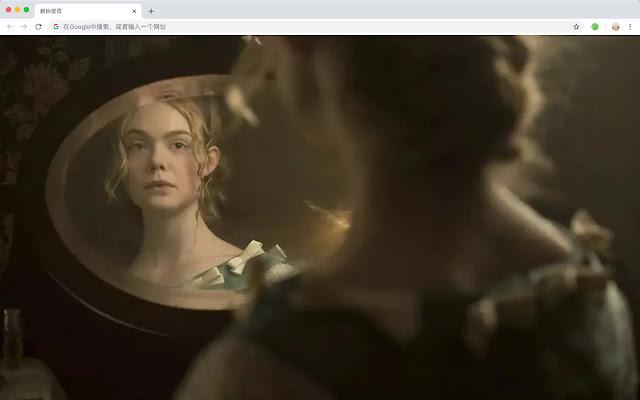 Elle Fanning New Tab Theme HD