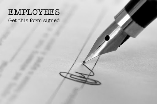 Form for Employees Whose Employers Are Requiring Covid-19 Injections