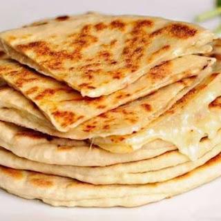 Quick Khachapuri Cheese Suluguni.