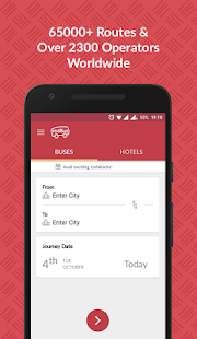 redBus - Online Bus Ticket Booking, Hotel Booking - náhled