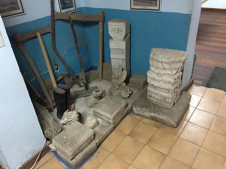 ウユニの街中にある博物館