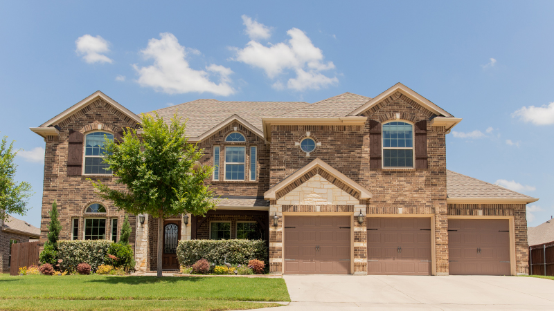 A lovely, brick, single-family home