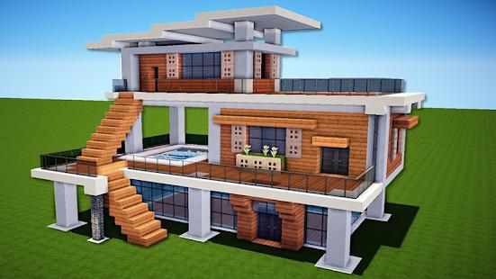 Modern Houses For Minecraft Apps Bei Google Play - Minecraft haus bauen mit redstone