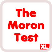 The Moron Test XL - idiot test for when you bored
