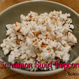 Cinnamon Swirl Popcorn