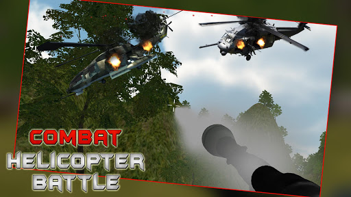 Combat Helicopter Battle: War