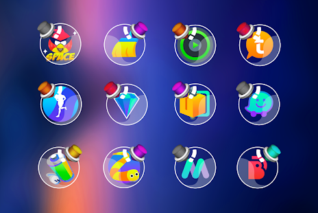 Bottle - Icon Pack Screenshot