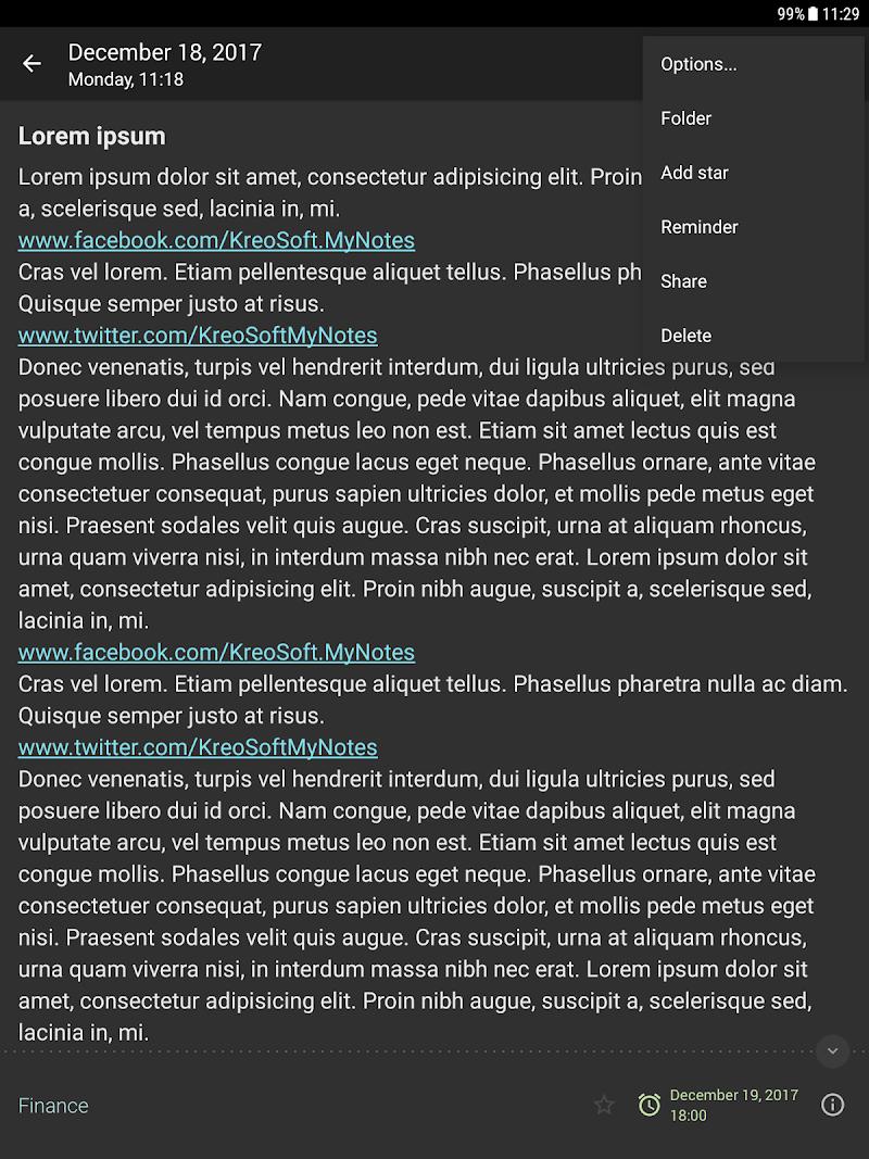 My Notes - Notepad Screenshot 13