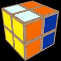 Simplified Rubik's Cube icon
