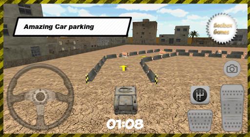 3D City Military Parking