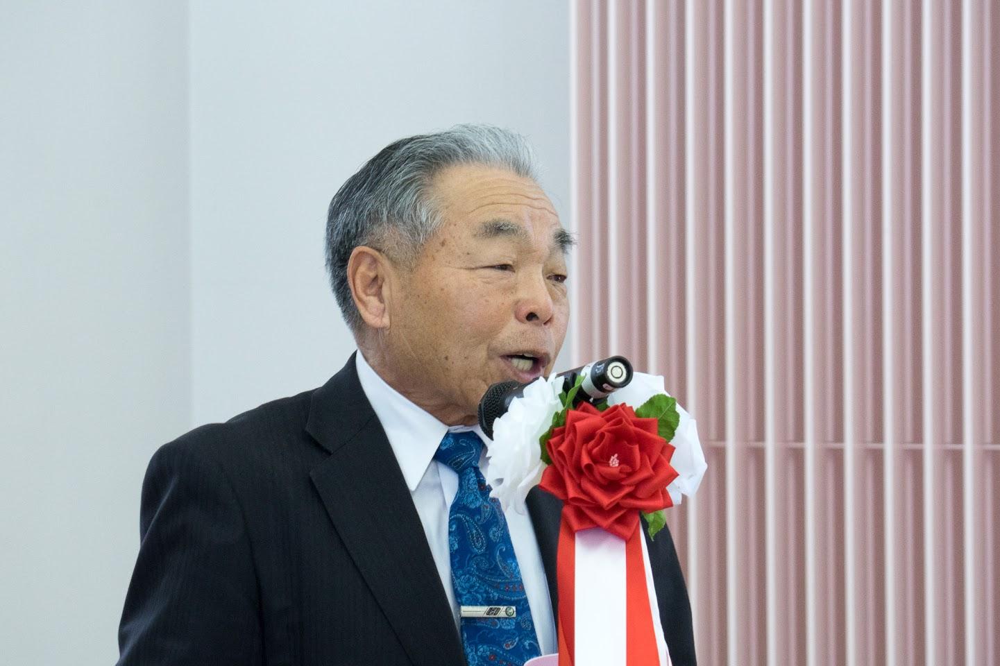 前北竜町議会等OB会・田中盛亮 会長