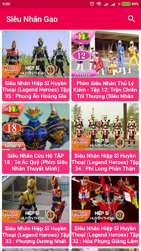 Siêu nhân Gao - 5 anh em siêu nhân screenshot 1