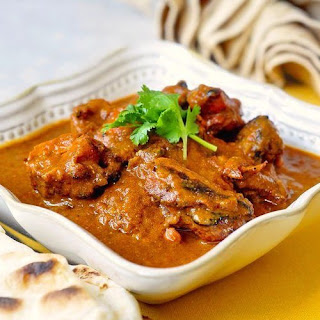 Low Fat Tomato Tandoori Chicken Curry.