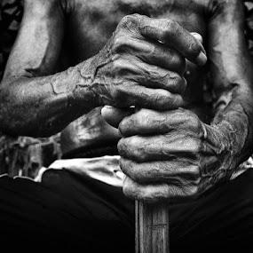 by Oji Blackwhite - People Body Parts