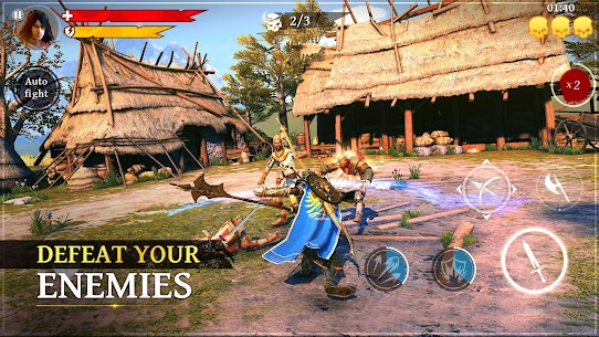 Download Iron Blade: Monster Hunter RPG the popular Iron Sword action game for Android! 1