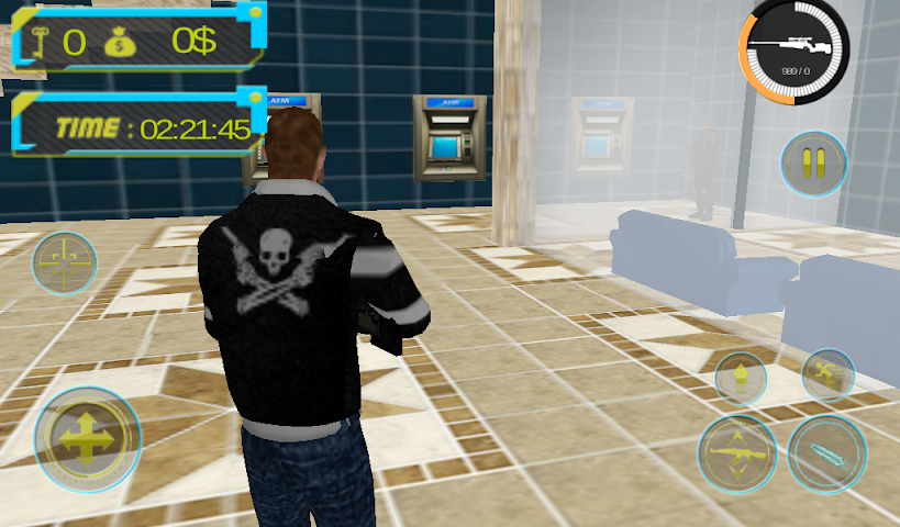 android Bank Robbery : Crime Case Screenshot 4